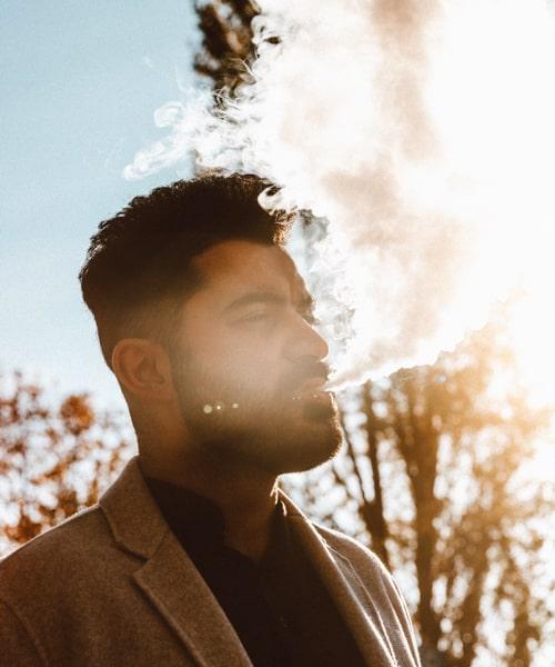 CBD rauchen kann sehr entspannend sein