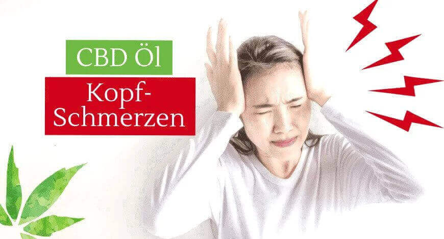 CBD Öl Hanföl Cannabisöl gegen Kopfschmerzen, Migräne